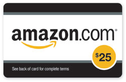 October Giveaway – $25 Amazon Gift Card
